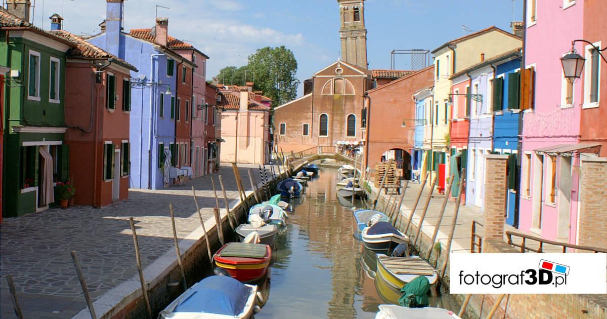 Zaproszenie na wycieczkę do Włoch – Wenecja, Burano