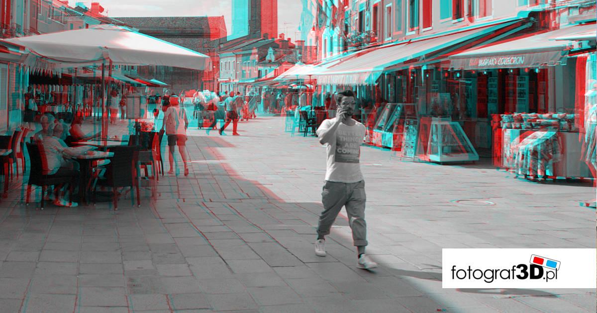 Fotograf3D Włochy Burano